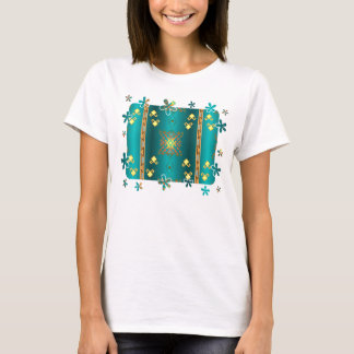 Sun In Winter Blanket Pattern T-Shirt