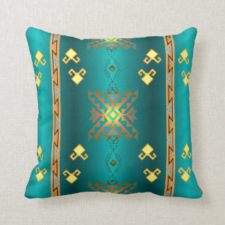 Sun In Winter Blanket Pattern Throw Pillows
