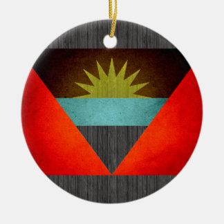 Sun kissed Antigua and Barbuda Flag Ornaments
