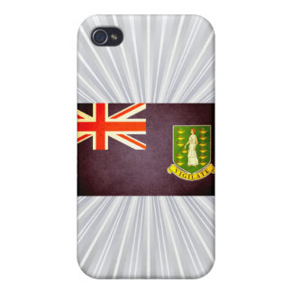 Sun kissed British Virgin Islands Flag iPhone 4/4S Cover