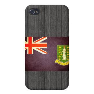 Sun kissed British Virgin Islands Flag Case For iPhone 4