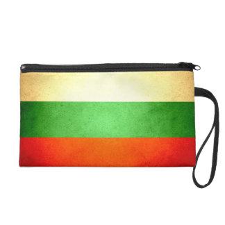 Sun kissed Bulgaria Flag Wristlet Purses
