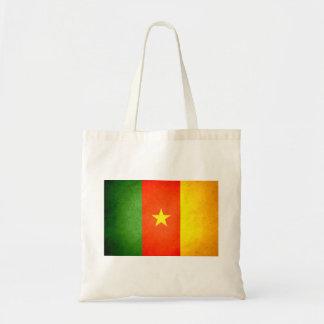 Sun kissed Cameroon Flag Canvas Bags
