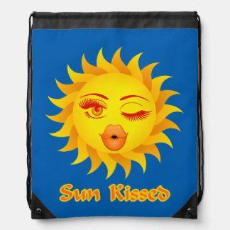 Sun Kissed Drawstring Bag