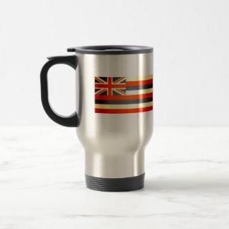 Sun kissed Hawaii Flag Coffee Mugs
