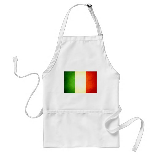 Sun kissed Italy Flag Aprons