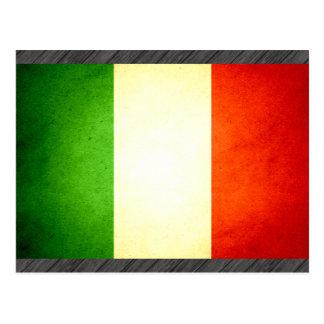 Sun kissed Italy Flag Post Card
