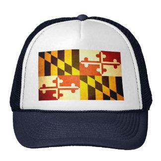 Sun kissed Maryland Flag Trucker Hat