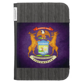 Sun kissed Michigan Flag Kindle 3 Cover