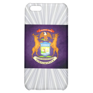 Sun kissed Michigan Flag Cover For iPhone 5C