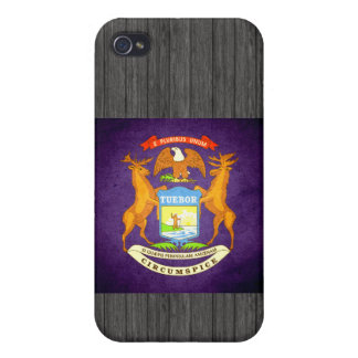 Sun kissed Michigan Flag iPhone 4 Covers