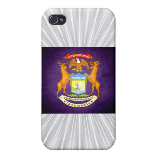 Sun kissed Michigan Flag iPhone 4/4S Cover