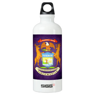 Sun kissed Michigan Flag SIGG Traveller 0.6L Water Bottle