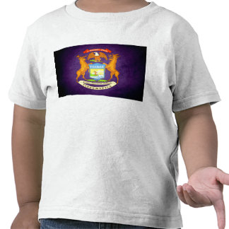 Sun kissed Michigan Flag Shirt