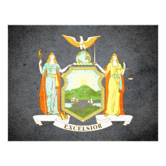 Sun kissed New York Flag Custom Flyer