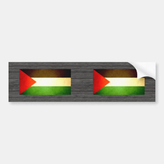Sun kissed Palestine Flag Bumper Sticker