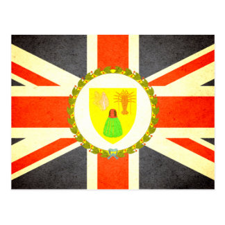Sun kissed Turks and Caicos Islands Flag Postcard