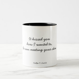 Sun-kissed Two-Tone Coffee Mug