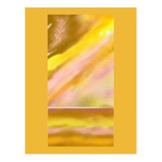 Sun Lake (full) Abstract Art Postcard