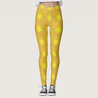 Sun light glowing yellow Leggings