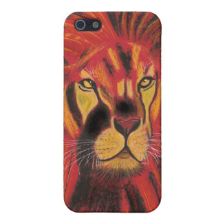 SUN LION CASE FOR iPhone 5/5S
