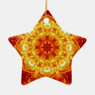 Sun Lotus.jpg Ceramic Star Decoration