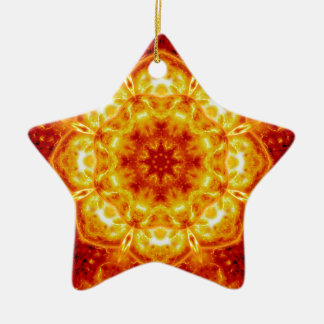 Sun Lotus.jpg Christmas Ornament