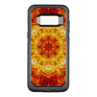 Sun Lotus Mandala OtterBox Commuter Samsung Galaxy S8 Case
