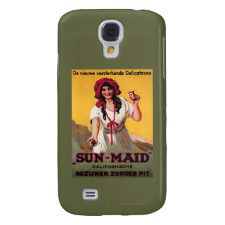 Sun-Maid California Raisin Poster Galaxy S4 Case