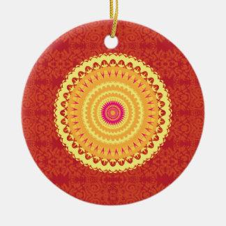 Sun Mandala Ornament