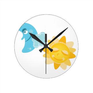 Sun & Moon Clock