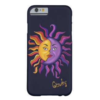 Sun & Moon design Barely There iPhone 6 Case