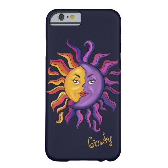 Sun & Moon design Barely There iPhone 6
