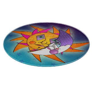 Sun & Moon GLASS CUTTING BOARDS