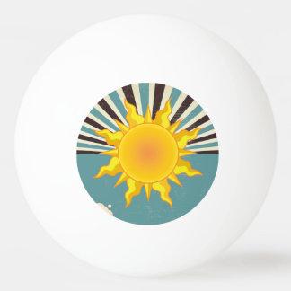 Sun & Moon One Star Ping Pong Ball