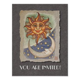 Sun Moon & Stars Card
