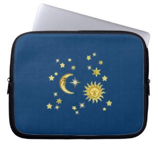 Sun, Moon & Stars Laptop Sleeve