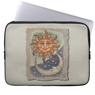Sun Moon & Stars Laptop Sleeve