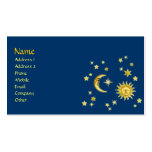 Sun, Moon & Stars Pack Of Standard Business Cards