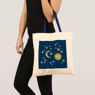 Sun, Moon & Stars Tote Bag