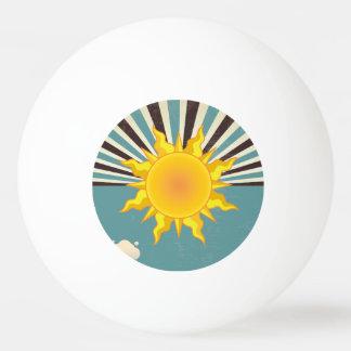 Sun & Moon Three Star Ping Pong Ball