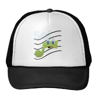 Sun - Musical Notes Trucker Hats