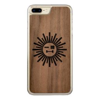 Sun of a gun carved iPhone 7 plus case