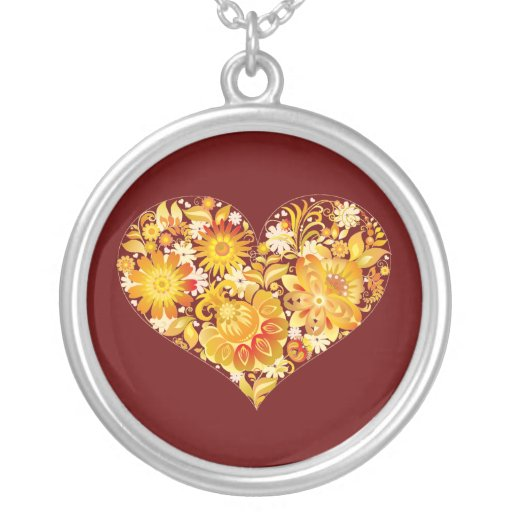 Sun of St. Valentine's day - Necklaces