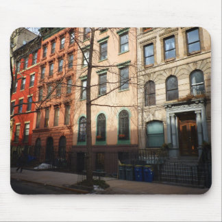 Sun on St. Mark's Place, East Village, NYC Mouse Pad
