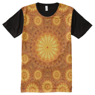 Sun Orbs Mandala All-Over Print T-Shirt