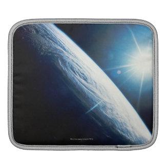 Sun over the Earth iPad Sleeve