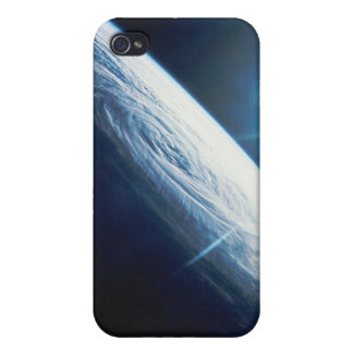 Sun over the Earth iPhone 4 Cover