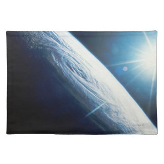Sun over the Earth Place Mats