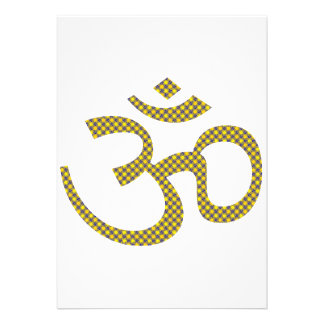 Sun patterened Om or Aum ॐ.png Invites